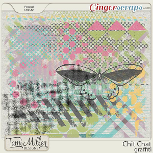 Chit Chat Graffiti by Tami Miller Designs