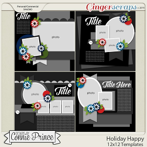 Holiday Happy - 12x12 Temps (CU Ok)
