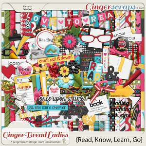 GingerBread Ladies Collab: Read, Know, Learn, Go