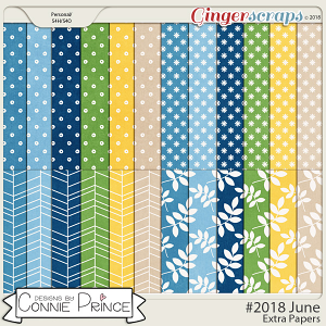 #2018 June - Extra Papers by Connie Prince