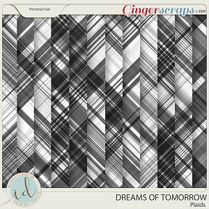 Dreams Of Tomorrow Plaids by Ilonka's Designs
