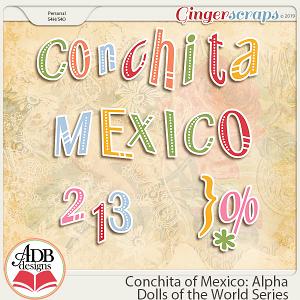 Conchita Alpha {DOTW Mexico} by ADB Designs