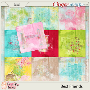 Best Friends Painted Papers