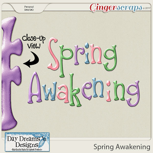 Spring Awakening {Extra Alphas} by Day Dreams 'n Designs