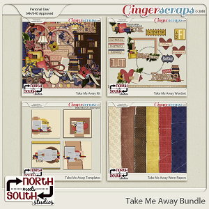 Take Me Away {Bundle} by Trixie Scraps and Connie Prince