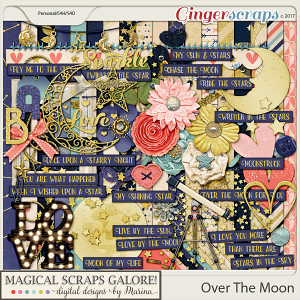 Over The Moon (page kit)