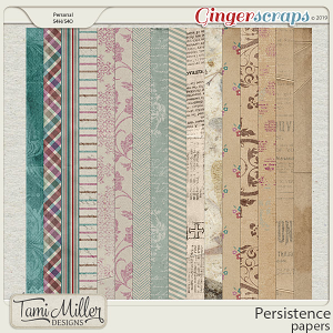Persistence Papers by Tami Miller Designs