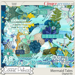 Mermaid Tales - Kit by Connie Prince