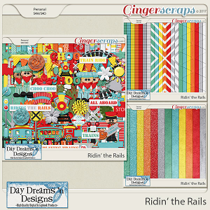 Ridin' the Rails {Bundle Collection} by Day Dreams 'n Designs