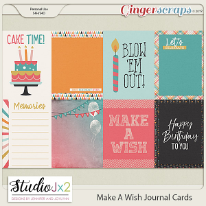 Make A Wish Journal Card Pack