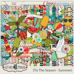 Tis The Season - Summer - Scraps N Pieces