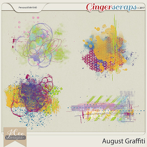 August Graffiti Pack by JoCee Designs