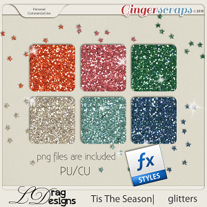 Tis The Season: Glitterstyles by LDragDesigns