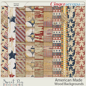American Made Wood Backgrounds