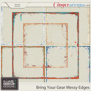 Bring Your Gear Messy Edges by Aimee Harrison