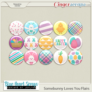 Somebunny Loves You Flairs