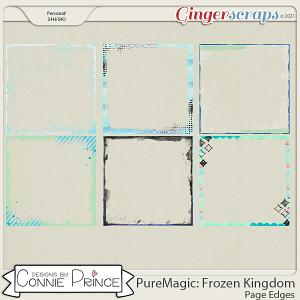 PureMagic: Frozen Kingdom - Page Edges  by Connie Prince