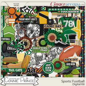 Sports: Football  - Kit by Connie Prince