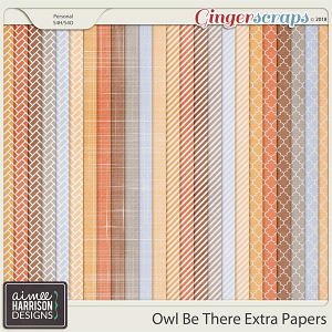 Owl Be There Extra Papers by Aimee Harrison