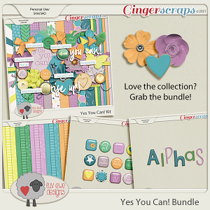 Yes You Can Bundle by Luv Ewe Designs