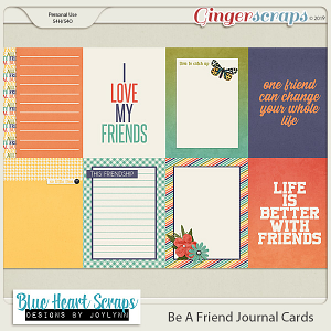 Be A Friend Journal Cards