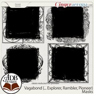 Vagabond, Explorer, Rambler, Pioneer Masks by ADB Designs