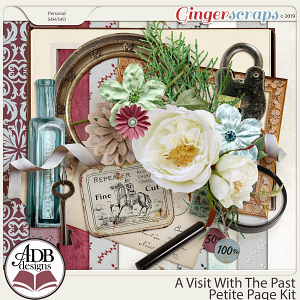 A Visit With The Past Petite Kit by ADB Designs