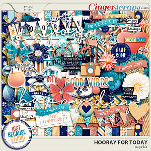 Hooray For Today Page Kit by JB Studio
