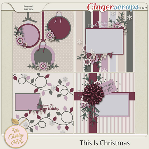 The Cherry On Top This Is Christmas Templates