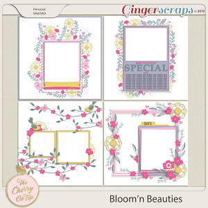 The Cherry On Top Bloom'n Beauties Templates