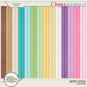Happy Easter - Extra Papers - By Neia Scraps