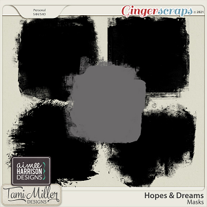 Hopes and Dreams Masks by Aimee Harrison and Tami Miller Designs