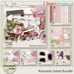 Romantic letter Bundle