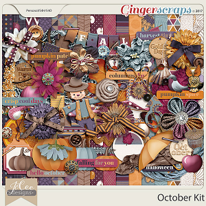 October Kit by JoCee Designs