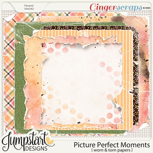 Picture Perfect Moments {Worn Papers}