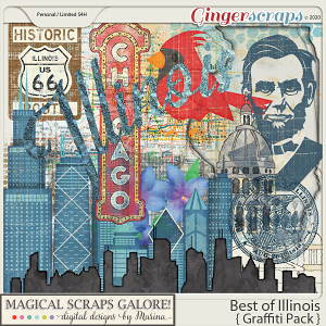 Best of Illinois (graffiti pack)