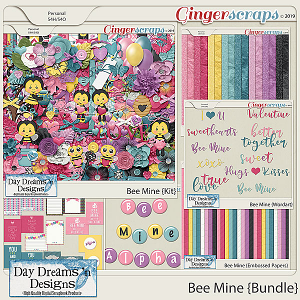 Bee Mine {Bundled Collection} by Day Dreams 'n Designs