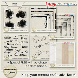 Keep your memories Creative Box #1