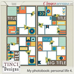 My photobook: personal life 4.