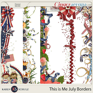 This is Me July Borders by Karen Schulz