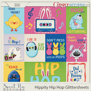 Hippity Hip Hop Pocket Cards