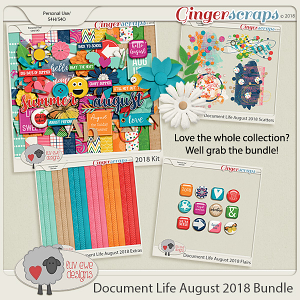 Document Life August 2018 Bundle by Luv Ewe Designs
