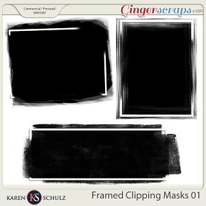 Framed Clipping Masks 01 by Karen Schulz
