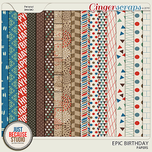 Epic Birthday Papers by JB Studio