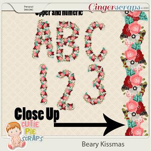 Flower Alphas (Beary Kissmas)