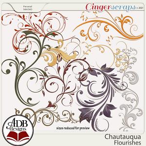 Chautauqua Flourishes by ADB Designs