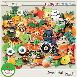 Sweet Halloween - elements