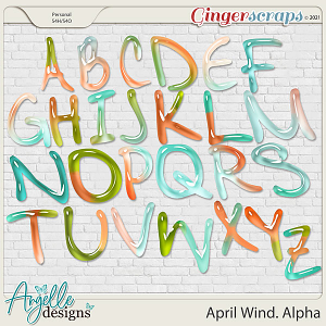 April Wind. Alpha by Angelle Designs
