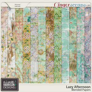 Lazy Afternoon Blended Papers by Aimee Harrison