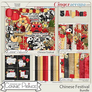 Chinese Festival - Bundle by Connie Prince